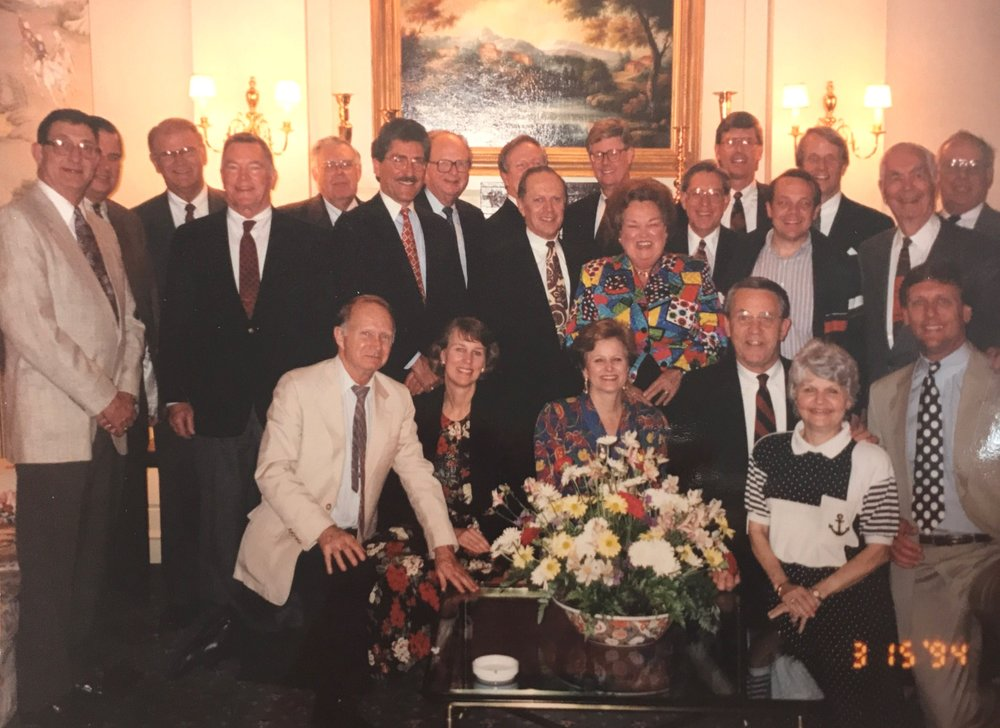 Outreach Board Meeting in 1994