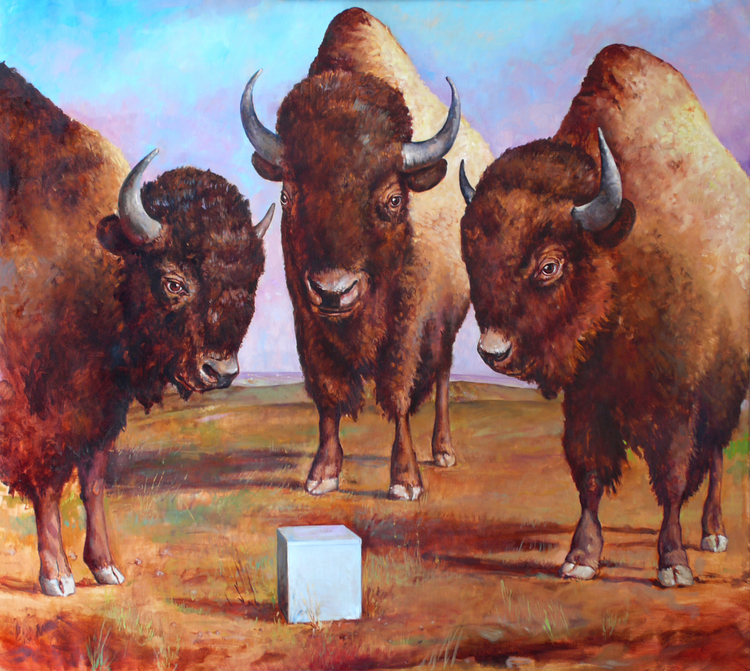 Bison and Box
