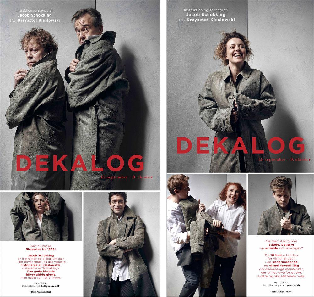 Montre plakater til Dekalog 2016