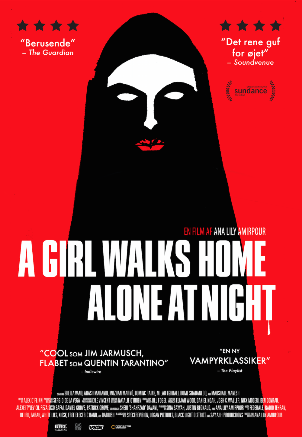 Standard cinema poster -  A Girl Walks Home Alone