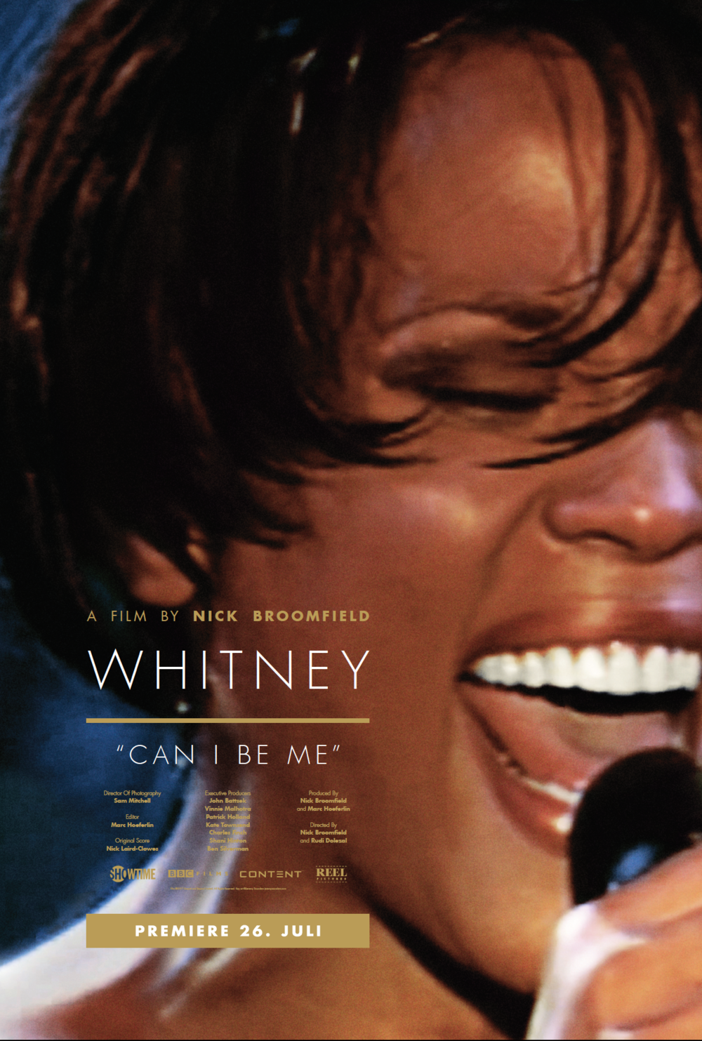"Movie poster for Whitney ""Can I be me"""