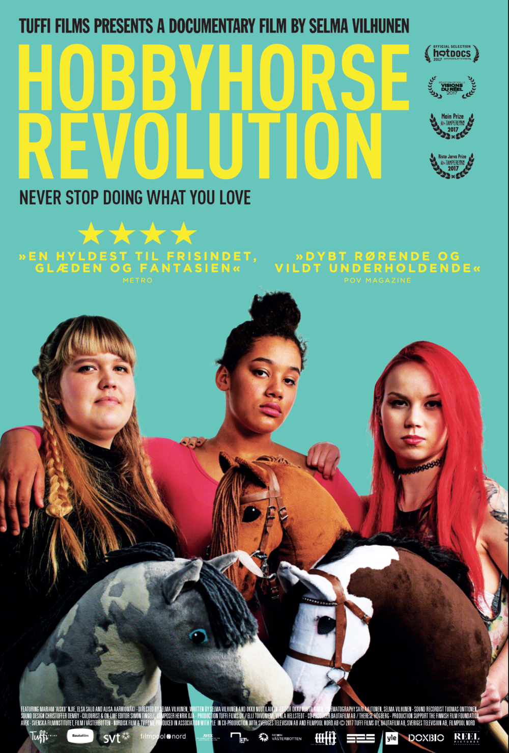 Movie poster for Hobbyhorse Revolution