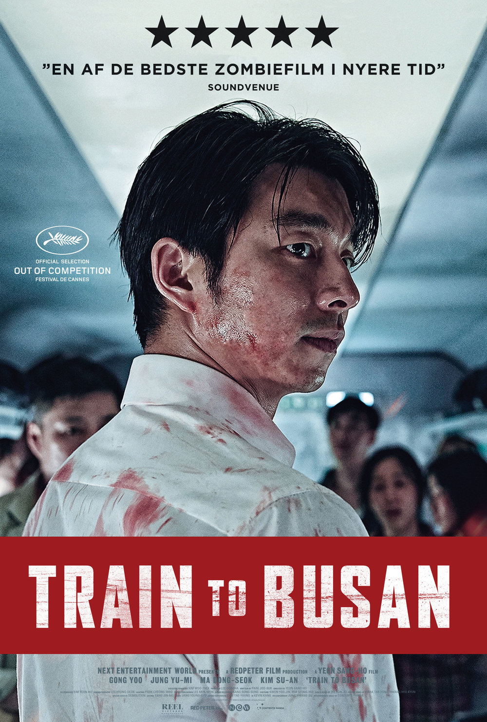 Movie poster for Train to Busan