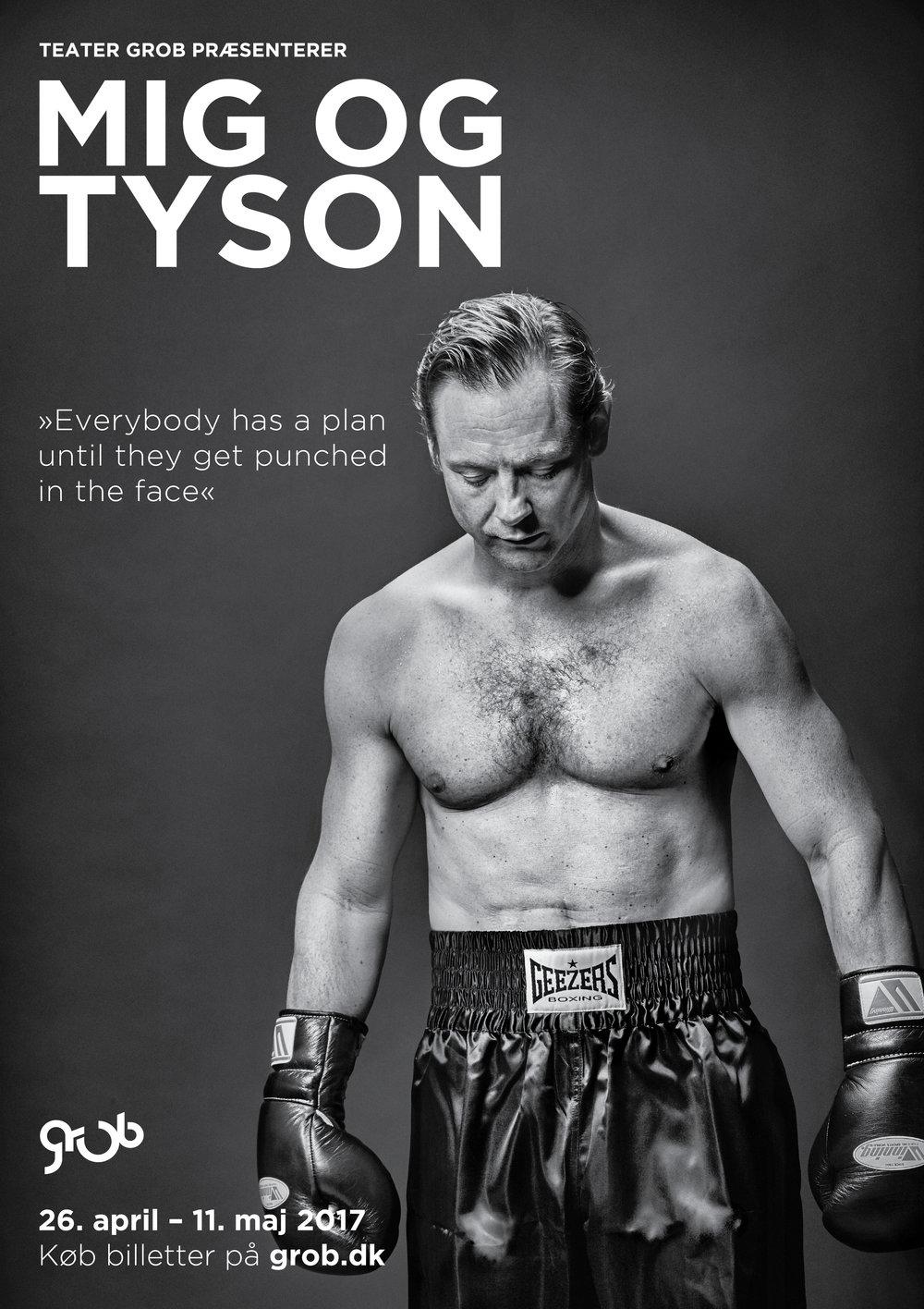 Plakat til Mig og Tyson 2017