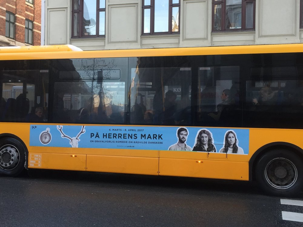 Busreklamer til På Herrens Mark 2017