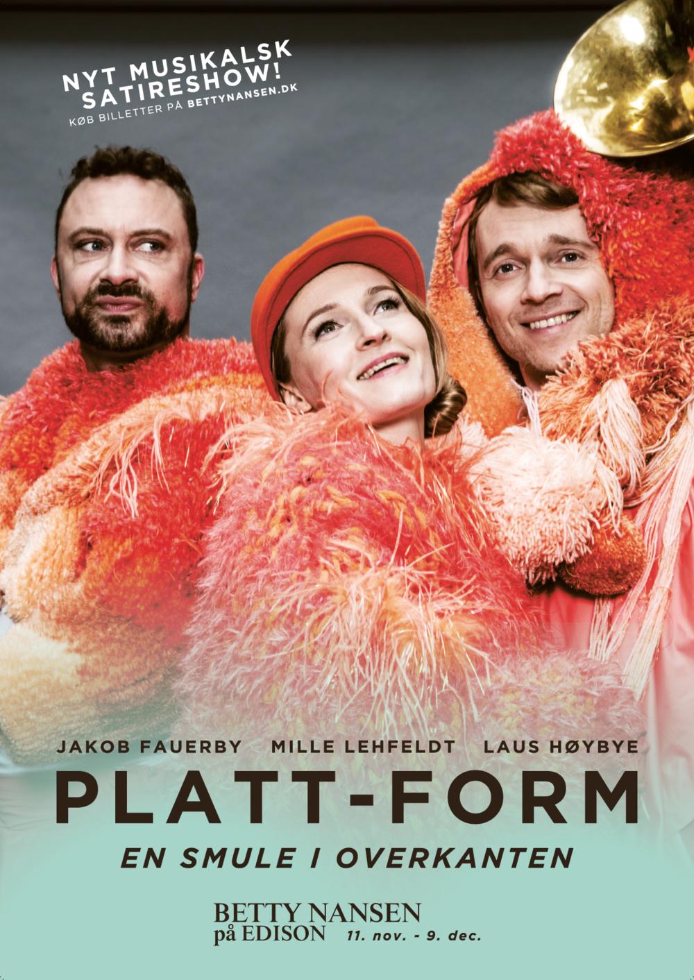 Plakat til Platt-Form 2017
