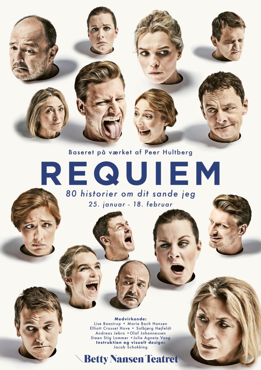 Plakat til Requiem 2018