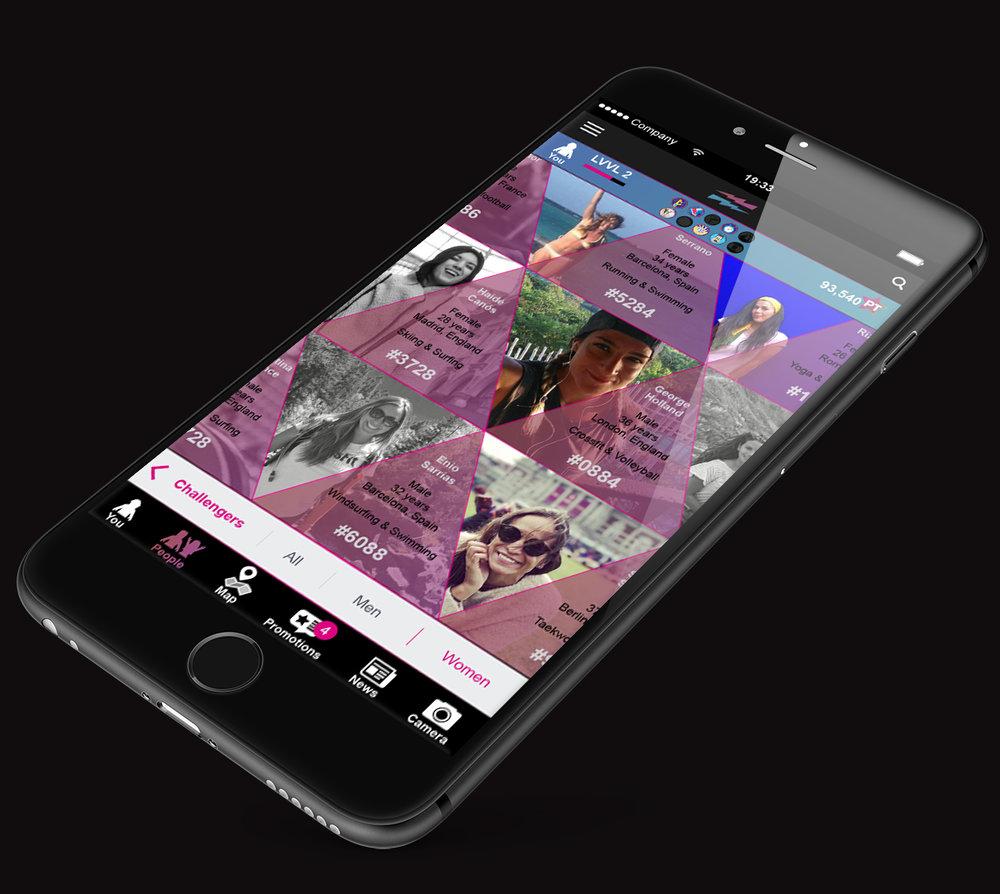 LEVVEL iPhone_Plus_app_challenges_challengers women.jpg