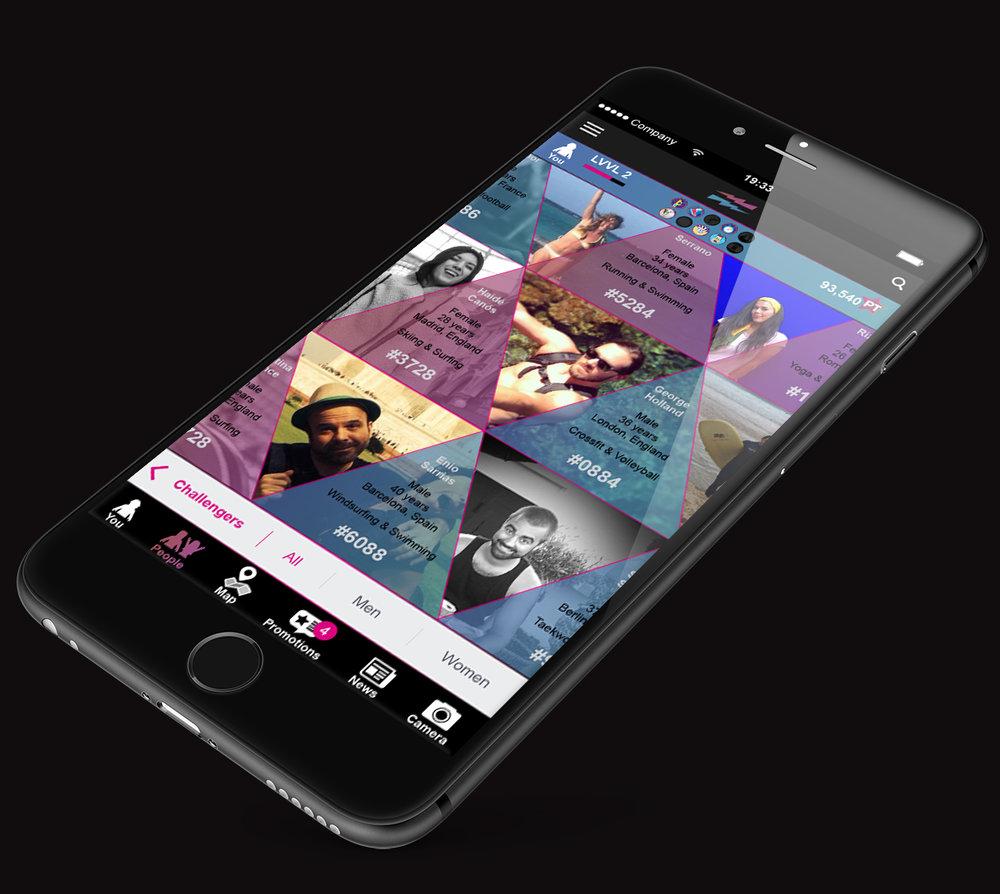 LEVVEL iPhone_Plus_app_challenges_challengers.jpg