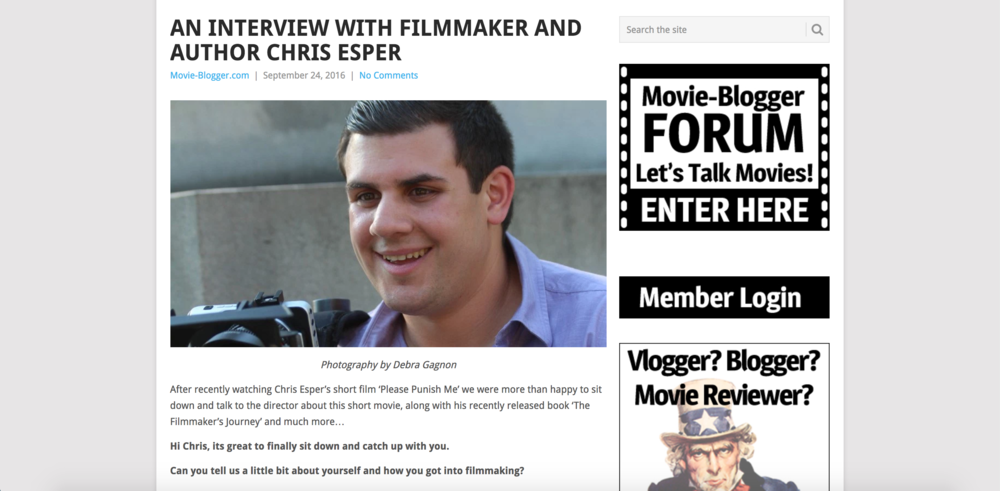Movie-Blogger.com Interview (2016)