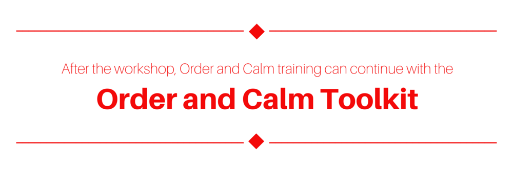 Order and Calm All Year Long