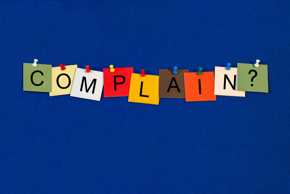 Our complaining can lead us to what we need to work on!