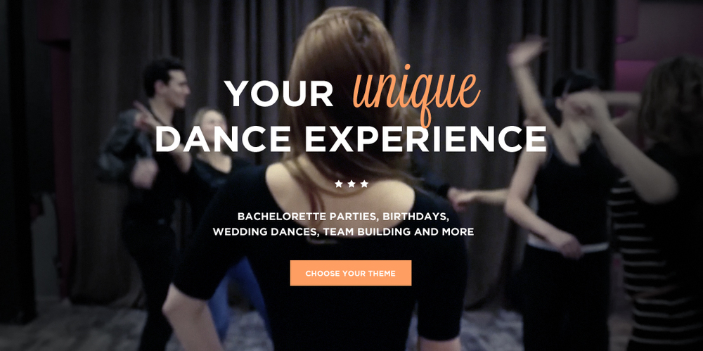 Your unique dance experience