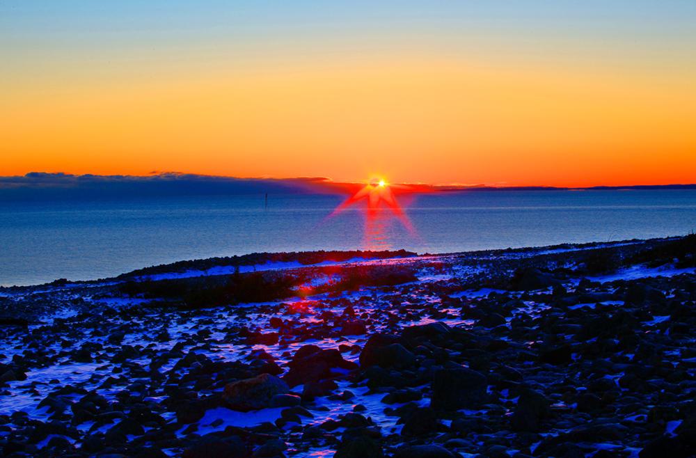 Mølen - En del av et av verdens største naturmonument fra siste istid.