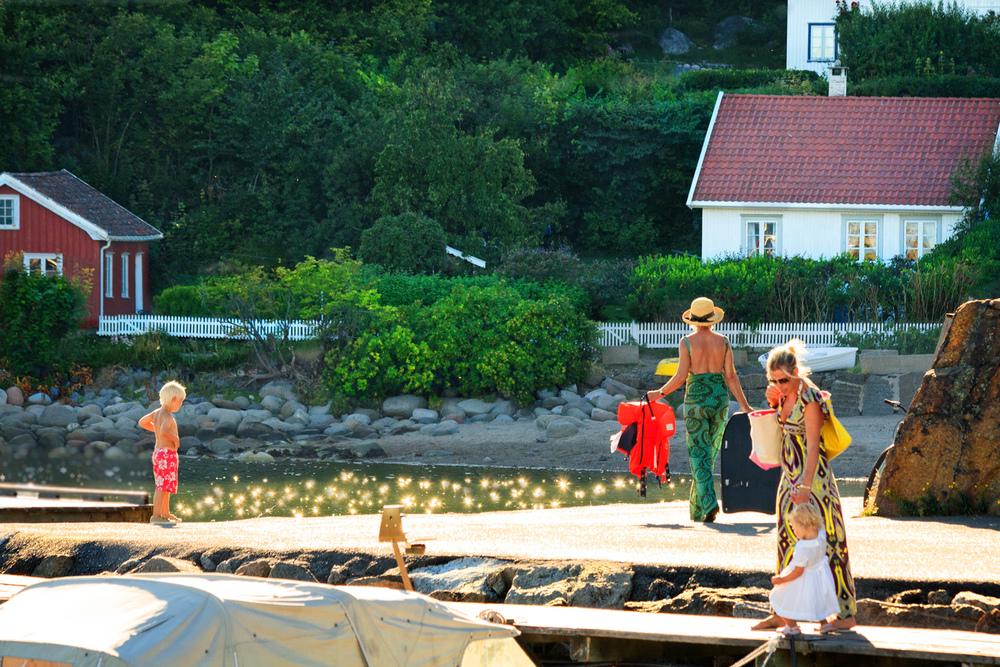 Sommerkvelder som dette er utvilsomt den norske sommeridyllen på sitt beste.