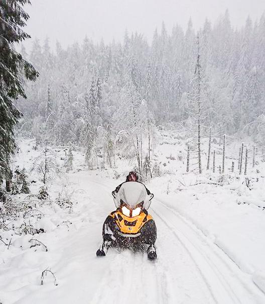 Så sant det er snø nok, så kjøres det alltid skiløyper inn til Heisetra. Foto: Kjartan Nielsen Tveten