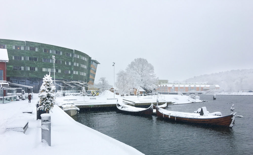 Se etter dette motivet neste gang du er i Tønsberg.