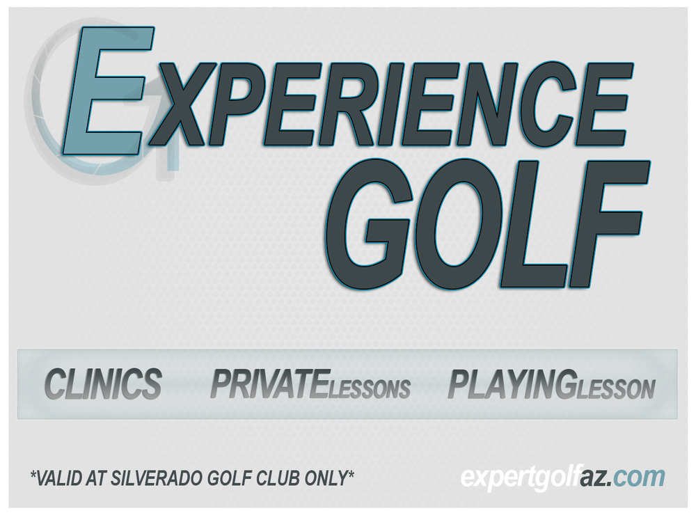 Once you purchase the Experience Golf Card you will be emailed a voucher. Bring that voucher to your first lesson to receive your card. If you have any questions please call 480.323.0517