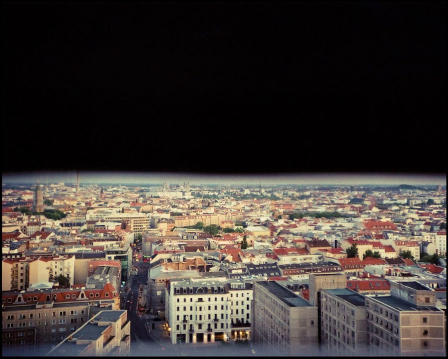 View over Berlin.