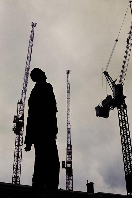 Statue near Tate Modern.
