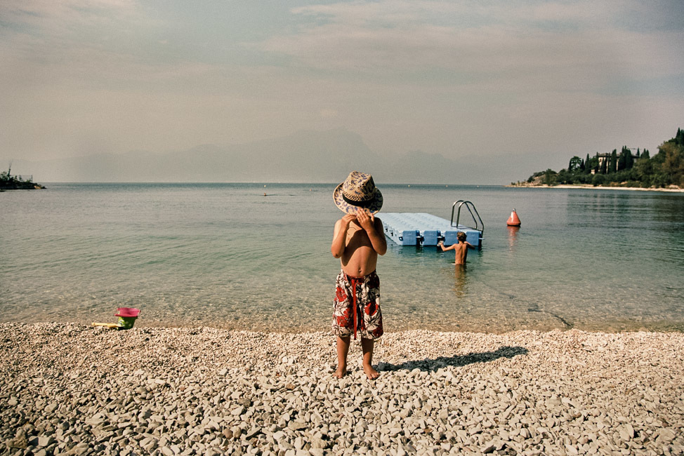 Luca. Lake Garda.