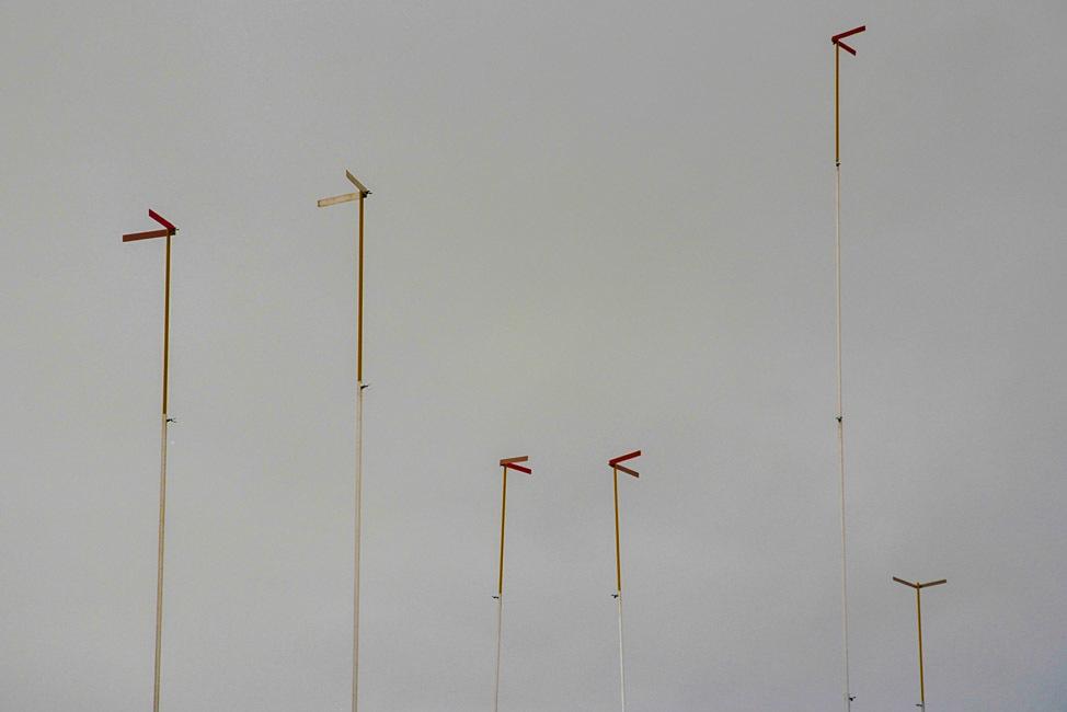 Unknown objects in the sky. Zug, Switzerland.