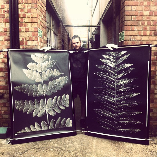 2 of the big prints we did in the #darkroom yesterday with @j_i_m_r_a_t