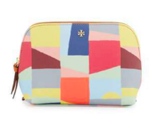 Gift Guide - TORY BURCH KERRINGTON SCAPE COSMETIC BAG, RED CANYON.png