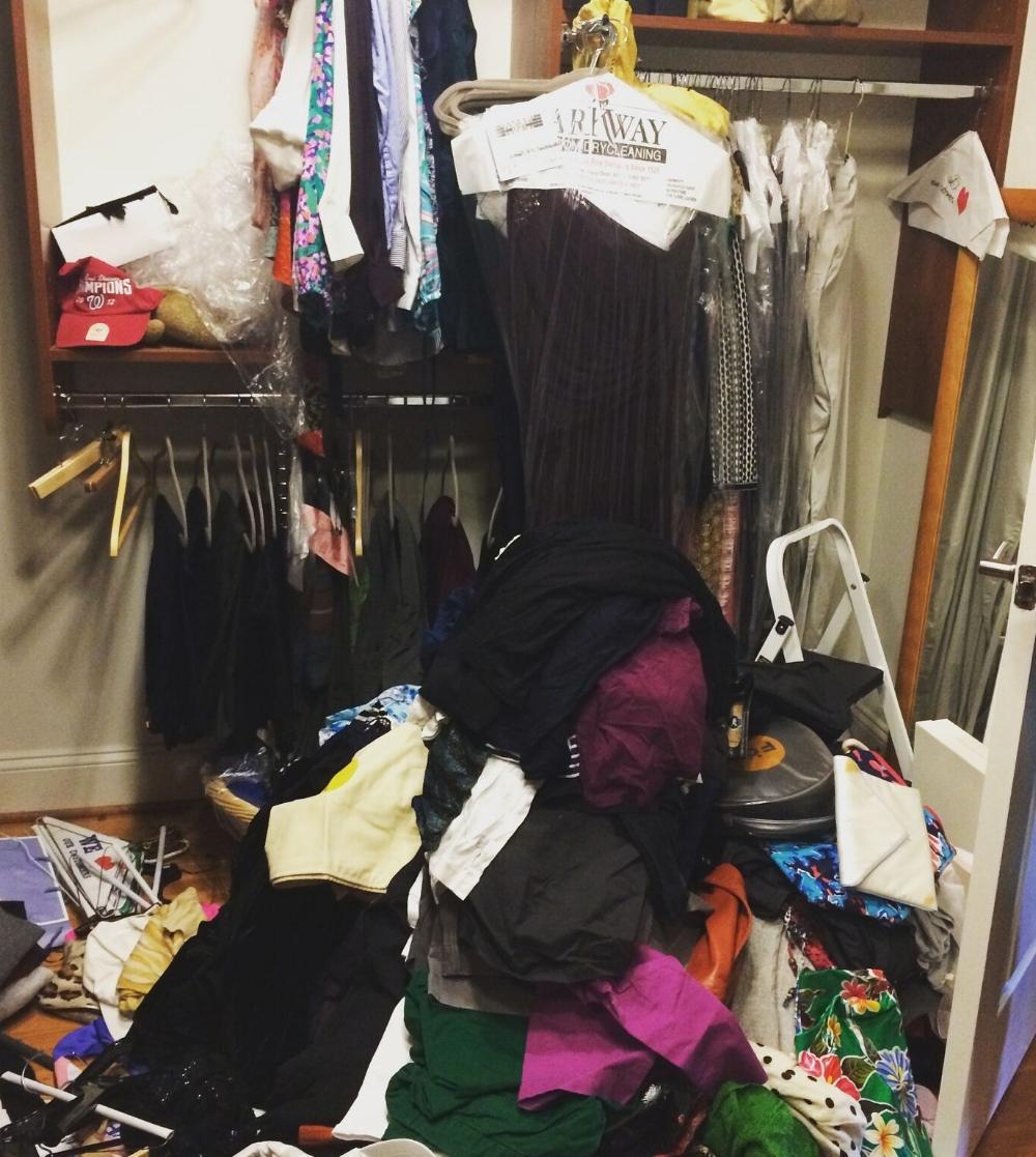 Rachel and Company - Closet Before - www.rachel-company.com