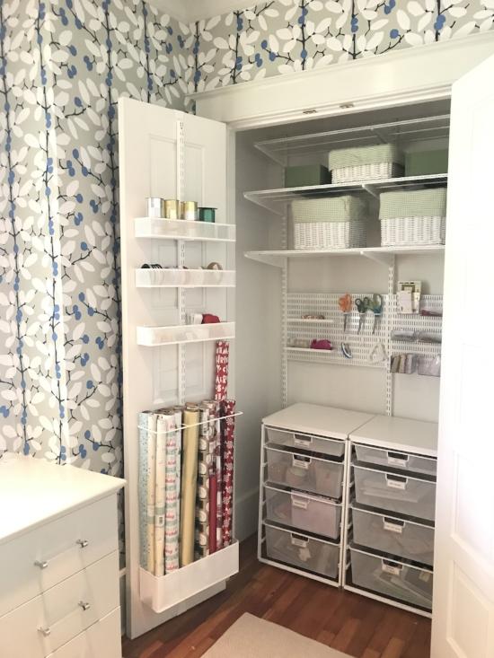 Rachel and Company - Gift Wrap Closet - www.rachel-company.com