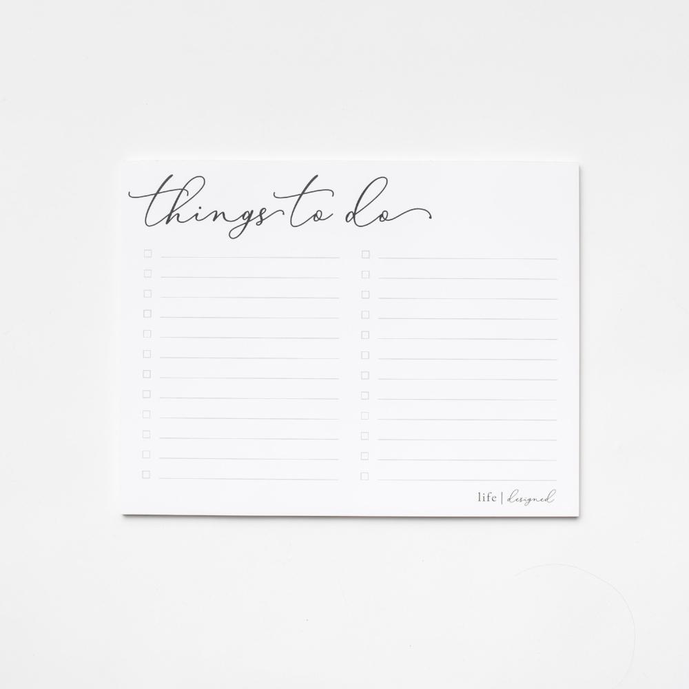 Rachel and Company - Life Design Notepads - www.rachel-company.com