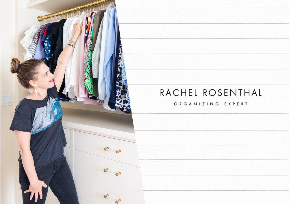Rachel Rosenthal - Organized closet - www.rachelrosenthal.co