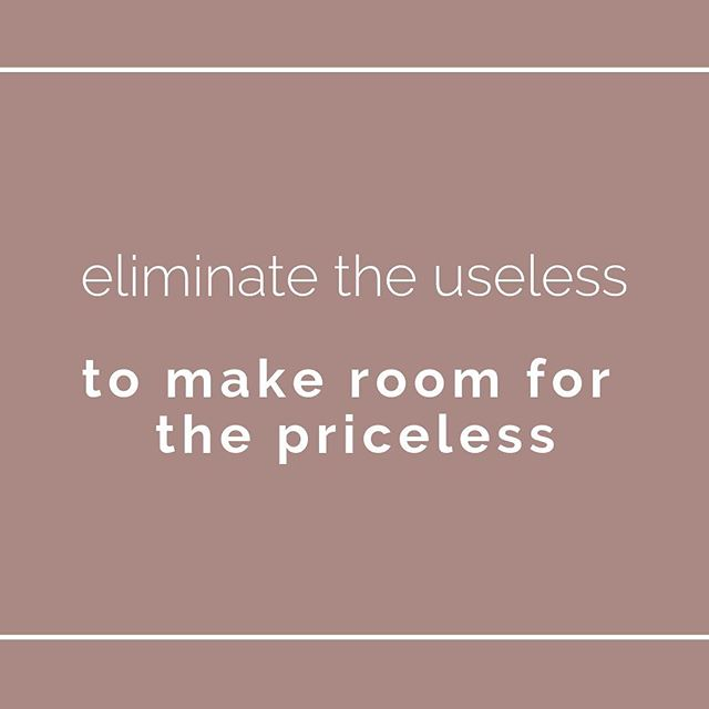 Organizing is about prioritizing—what matters most to you and how will you make space for it? 💜 Wise words from @spaceinyourplace⠀