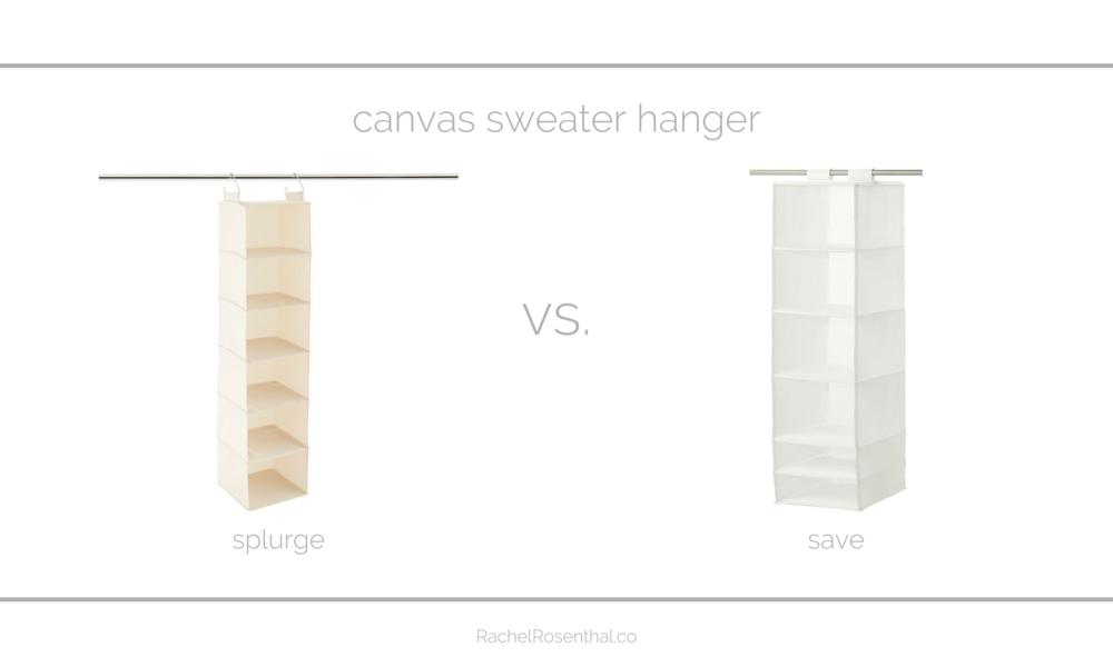 Rachel Rosenthal - Looks for Less - Sweater Hanger - www.rachelrosenthal.co