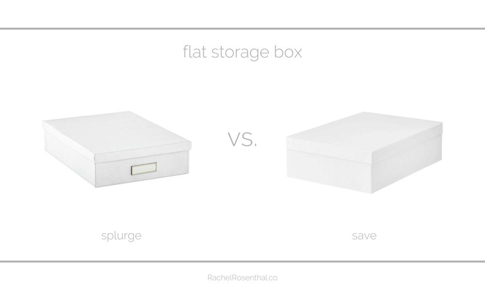 Rachel Rosenthal - Looks for Less - Storage Boxes - www.rachelrosenthal.co