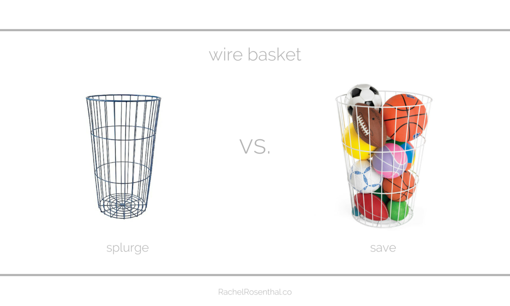 Rachel Rosenthal - Looks for Less - Wire Baskets - www.rachelrosenthal.co