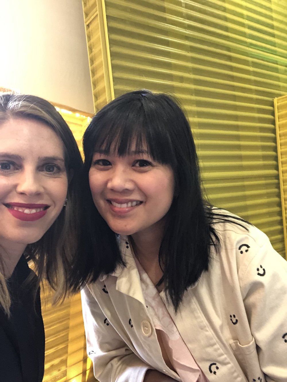 I loved chatting with Joy (@ohjoy) she was so kind and gave the best business tips!