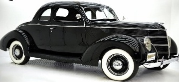 "First car ""used"" 1938 Ford Coupe"