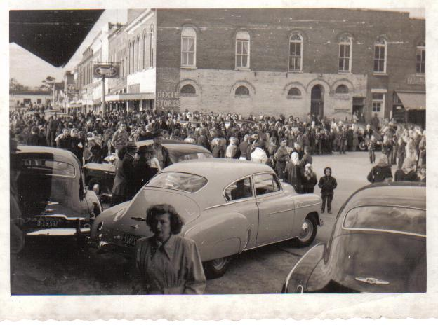 A Christmas Parade 1950