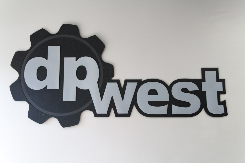 DP West Sign