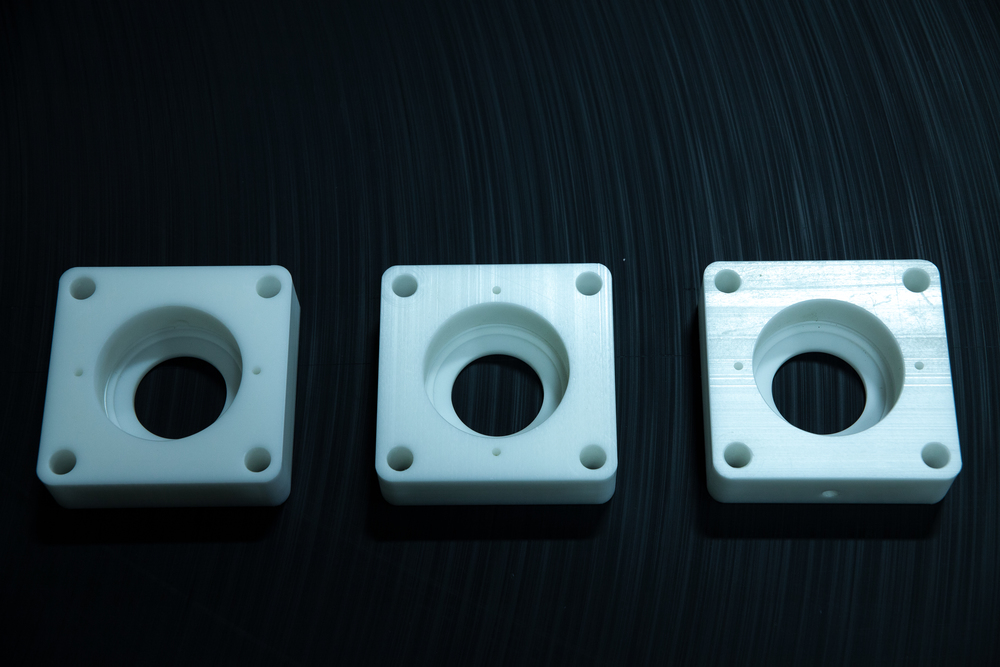 Natural UHMW-PE Bearing Blocks