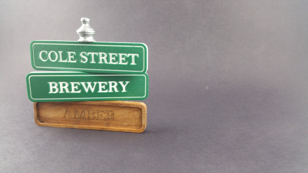 Cole Street Brewery Tap Handles