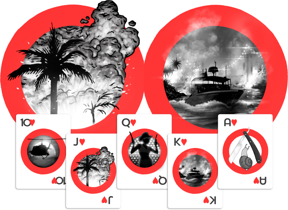 Apocalypse Now playing cards