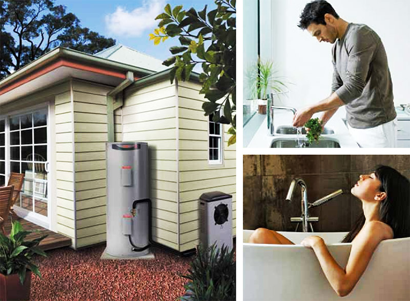 solar hot water Brisbane - Rheem