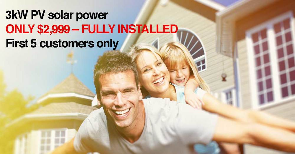 solar power brisbane limited time offer