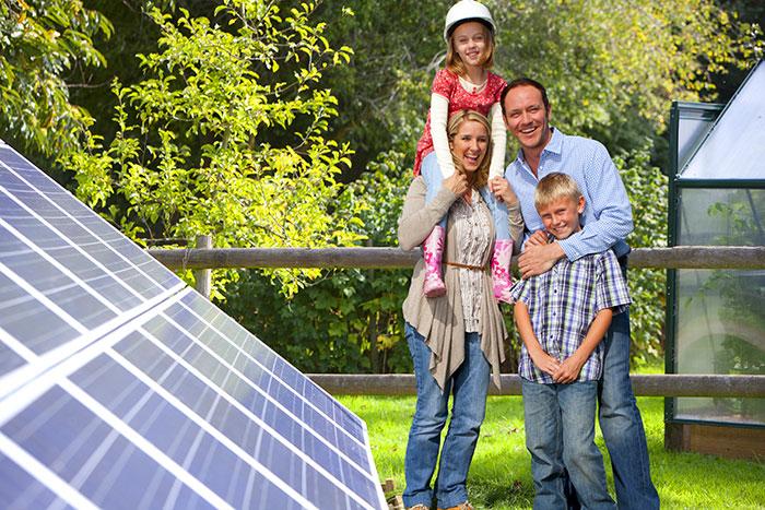 solar panel brisbane family