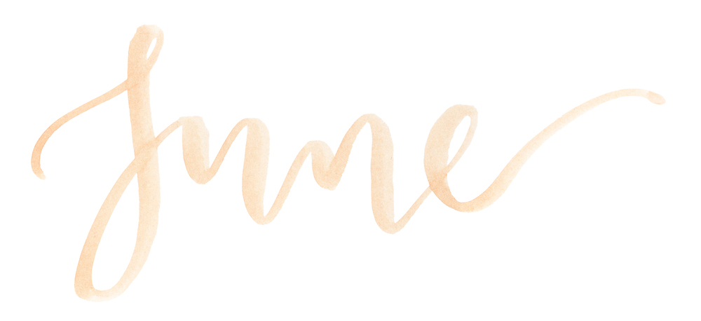 MONTHLY MONTH! — A Creative Affair | Calligraphy, Hand Lettering ...