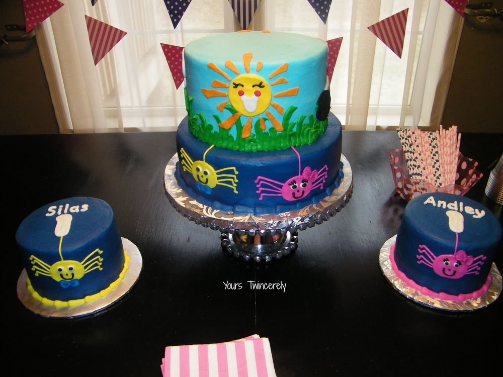 Itsy Bitsy Spider Birthday Party Yours Twincerely