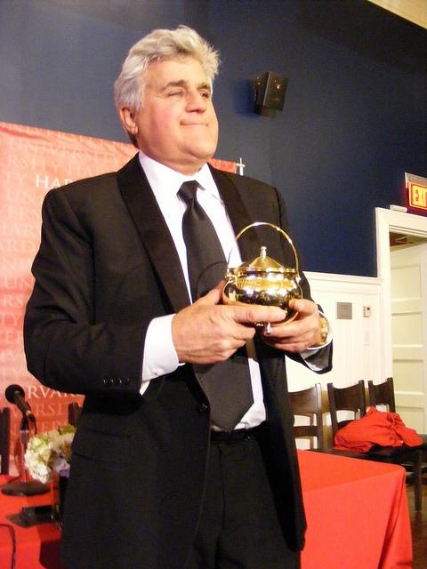 Jay Leno, Hasty Pudding Award, Harvard University