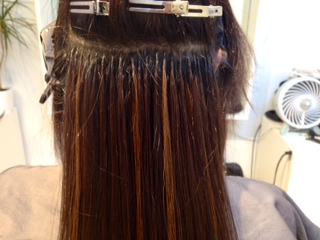 Great Lengths attachment sites are almost undetectable! Hair can be styled, treated and colored as if it is your own.